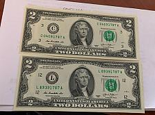 Buy United States Jefferson $2 crispy 2 banknotes 2013 #14