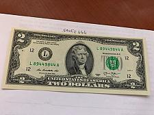 Buy United States Jefferson $2 crispy banknote 2013 #15