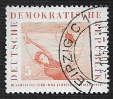 Buy German DDR Used Scott #B44 Catalog Value $.25