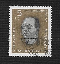 Buy German DDR Used Scott #B55 Catalog Value $.25