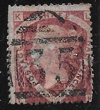 Buy Great Britain 1870 Scott #32 Used Plate #3 2021 Scott Cat. Val. $65.00 11823