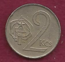 Buy CZECHOSLOVAKIA 2 Korun 1980 Coin - Czech Lion