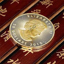 Buy 50 dollars uncirc. souvenir coin new