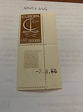 Buy Andorra France Europa 1966 mnh stamps