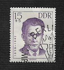 Buy German DDR Used Scott #B95 Catalog Value $.25