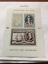 Buy Belgium Queen Elisabeth s/s mnh 1966 stamps