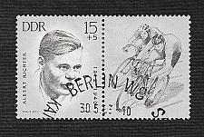 Buy German DDR Used Scott #B100 Catalog Value $.25