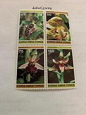 Buy Cyprus Wild Orchids Flowers block mnh 1981 stamps