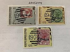 Buy Cyprus Centenary of the First Stamps 1980 mnh stamps