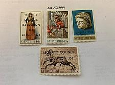 Buy Cyprus U.N. safety treaty 1974 mnh stamps