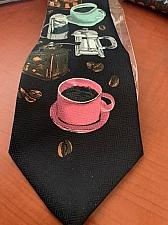 Buy NEW Novelty Coffee lovers necktie
