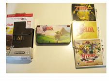 Buy Excellent Red Nintendo New 3ds XL Zelda Bundle!