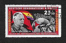 Buy German DDR Used Scott #B139 Catalog Value $.25