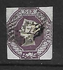 Buy Great Britain 1870 Single Used Scott #7a 2021 SCV $1,000.00 11828