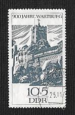 Buy German DDR Used Scott #B145 Catalog Value $.25