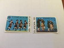 Buy Greece Europa 1981 mnh stamps