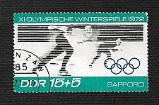 Buy German DDR Used Scott #B164 Catalog Value $.25