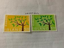 Buy Iceland Europa 1962 mnh stamps