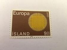 Buy Iceland Europa 9k mnh 1970 stamps