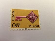 Buy Iceland Europa 9.50k mnh 1968 stamps
