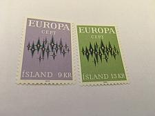 Buy Iceland Europa 1972 mnh stamps