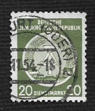 Buy German DDR Used Scott #O8 Catalog Value $.25