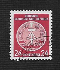Buy German DDR Used Scott #O9 Catalog Value $.25
