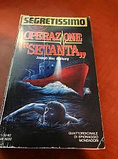 Buy Italy book : Segretissimo 1212 Operazione Setanta di Ottobre 1992 libro