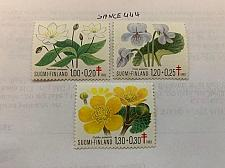 Buy Finland Anti tuberculosis Flowers 1983 mnh stamps