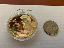 Buy United States Elvis Presley golden uncirc. coin