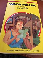 Buy Italian book Gialli Mondadori n.628 Il segno del pavone del 19/2/1991 libro
