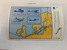 Buy Finland Planes s/s 1988 mnh stamps