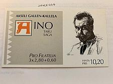 Buy Finland Aino Sage booklet 1997 mnh stamps