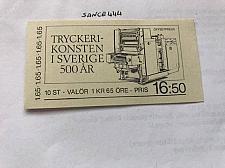 Buy Sweden Printing booklet mnh 1983 stamps