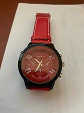 Buy New WoMaGe with synthetic leather band watch