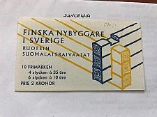 Buy Sweden Finnish settlement booklet mnh 1967 stamps