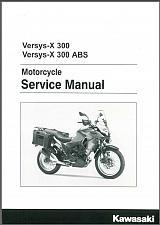 Buy 2017-2018 Kawasaki Versys-X 300 / ABS Service Repair Manual on a CD - VersysX