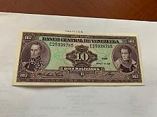Buy Venezuela 10 Bolivares uncirc. banknote 1986