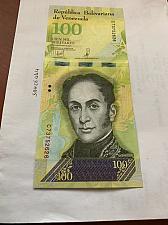Buy Venezuela 100 Bolivares uncirc. banknote 2017