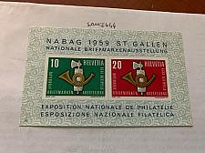 Buy Switzerland Lausanne stamp exposition s/s 1959 mnh stamps