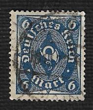 Buy German Used Scott #189 Catalog Value $1.50