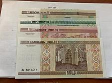 Buy Belarus set of 4 uncirc. banknotes 2000