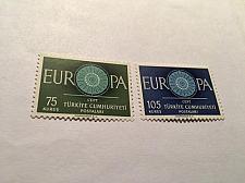 Buy Turkey Europa 1960 mnh stamps