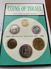 Buy Israel Jerusalem specimen set uncirc. coins 1967