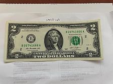 Buy United States Jefferson $2 uncirc. banknote 2013 #20 B 20741666 A