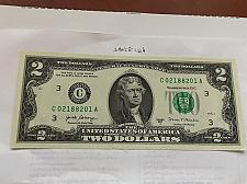 Buy United States Jefferson $2 uncirc. banknote 2017 #9