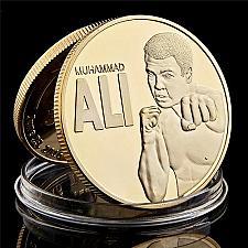 Buy United States Muhammad Ali uncirc. golden souvenir coin new