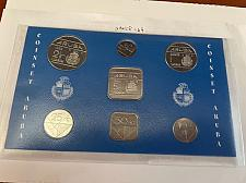 Buy Aruba set of uncirc. coins 1988