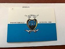 Buy San Marino Europa booklet mnh 1982 stamps