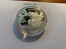 Buy Solomon Islands Koala silverade souvenir coin